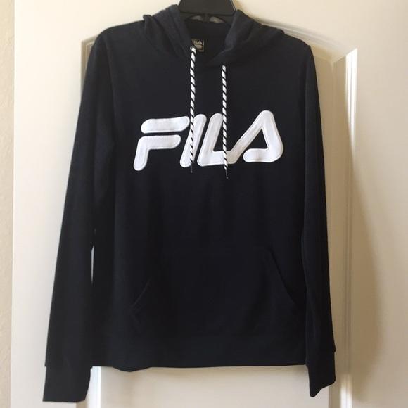 Fila Tops - NWOT Fila Sportswear Black Sweatshirt